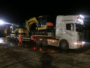 Komatsu PC80 sold to Canary Islands