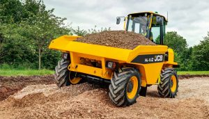 7 Ton Cabbed Dumper Hire
