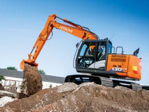 Hitachi 13 ton Excavator Hire b