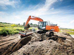 ZX210LC Hitachi Excavator Hire