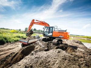 Hitachi ZX210 LC Excavator