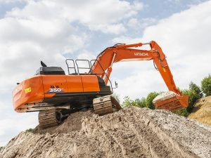 ZX350 Hitachi Large Excavator Hire