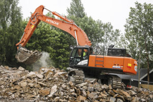 Hitachi ZX490LC hire 1