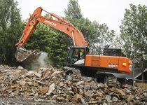 Hitachi ZX490 Excavator Hire