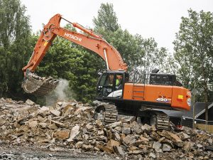 Hitachi ZX490 Excavator Hire
