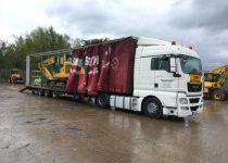 Komatsu PC138 Excavator Sold to Poland
