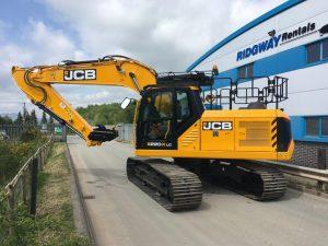 JCB JS220X Excavator Hire a