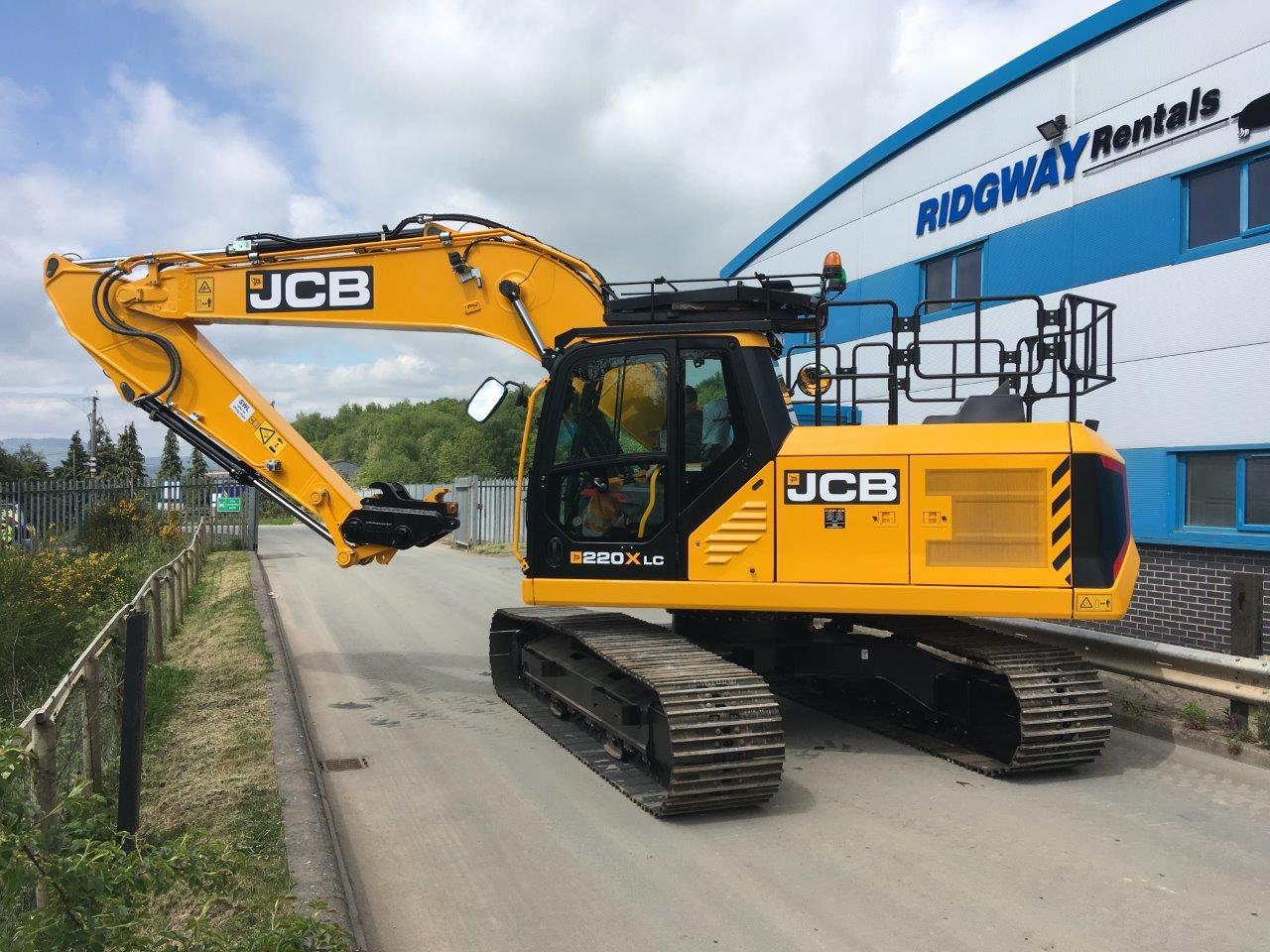 Brand New JCB JS220x Excavator Hire At Ridgway Rentals Ltd