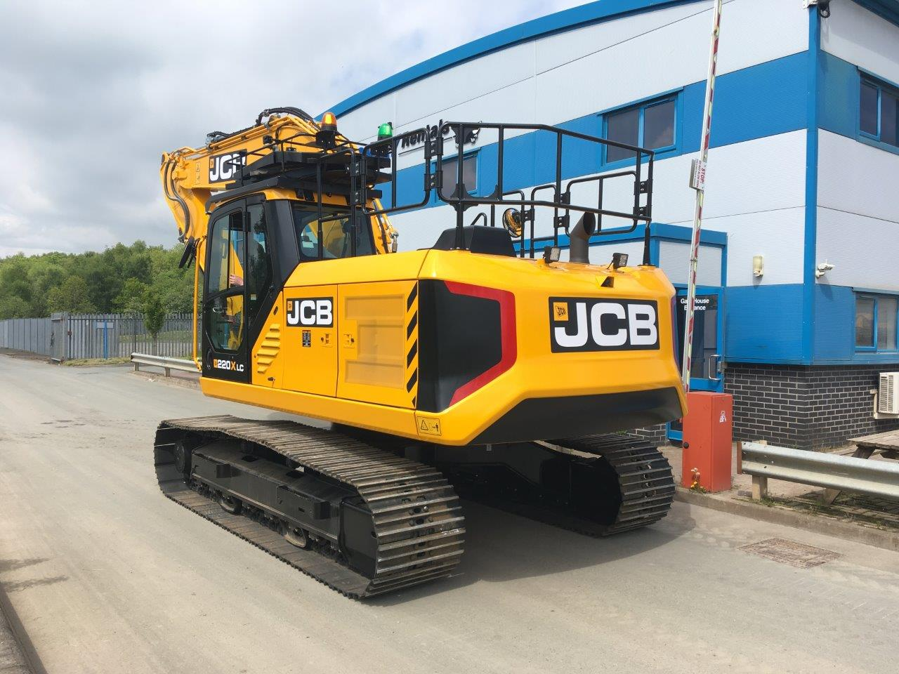 Brand New JCB JS220x Excavator Hire At Ridgway Rentals Ltd