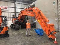 New Hitachi Excavators - Ridgway's zx490