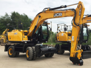 18 Ton Wheeled Excavator b