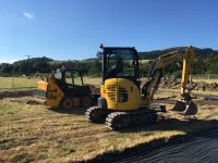 mini digger hire in Llanfyllin, Powys