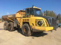 HM300 30 ton dump truck for sale 3607 4