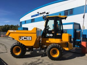 9 Ton Cabbed Dumper Hire