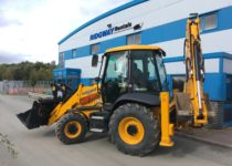 Backhoe Loader Hire - JCB 3CX