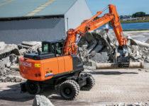 17 ton wheeled excavator b