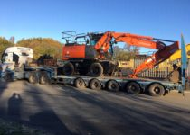 New Wheeled Excavators Hitachi
