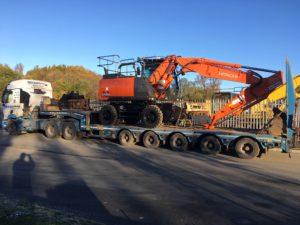 New Wheeled Excavators Hitachi