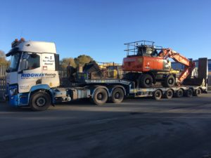 New Wheeled Excavators Hitachi ZX170W