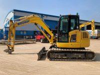 PC80MR used 8 ton excavator F50114 1