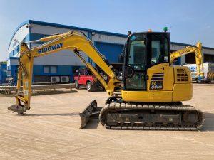 PC80MR used 8 ton excavator F50114 1