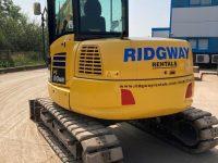 PC80MR used 8 ton excavator F50114 2