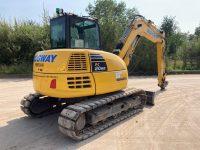 PC80MR used 8 ton excavator F50114 3