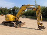 PC80MR used 8 ton excavator F50114 4
