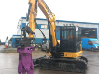 concrete cracker hire with 8 ton digger 1