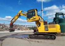 Raised Cab Excavator Hire