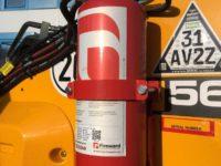 JCB 560 80 Wastemaster fire suppression