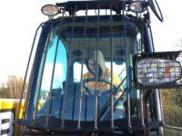 JCB 560 80 Wastemaster screen guards