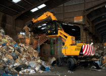 material handler hire high rise cab rr