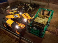 JCB 535 95 Agri Telehandler on farm