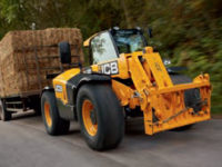 JCB 535 95 Agri Telehandler on road