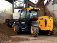 JCB 535 95 Agri Telehandler with shear grab