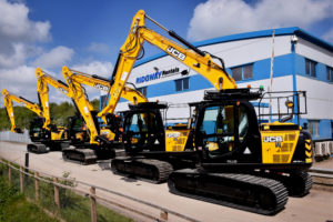jcb hire at Ridgway Rentals