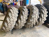 15.5 25 JCB Sitemaster Tyres Part Worn 1