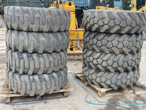 155 25 JCB Sitemaster Tyres Part Worn