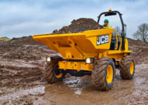 6 Ton Swivel Tip Dumper Hire