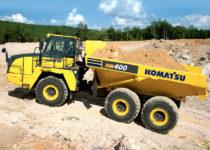 HM400 Dump Truck hire