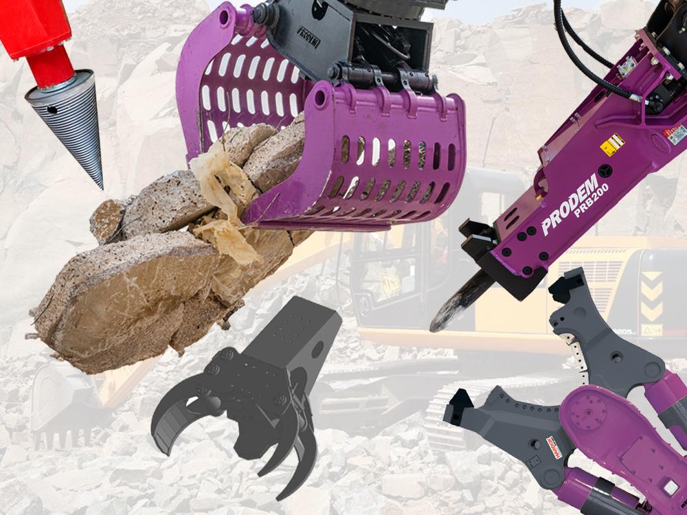 Excavator Attachment Hire   Demolition & Forestry