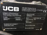 JCB 110W Hydradig Excavator For Sale 96249