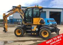 JCB Hydradig Wheeled Excavator For Sale 96249 R2B