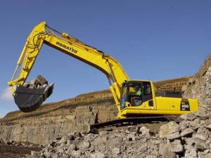 Komatsu PC450LC Excavator