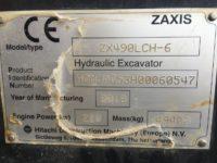 Hitachi ZX 490 CE certs 60547