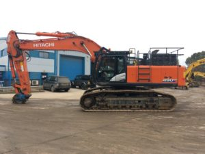 Hitachi ZX 490 Excavator For Sale