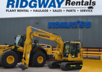 New Plant Hire Equipment at Ridgway