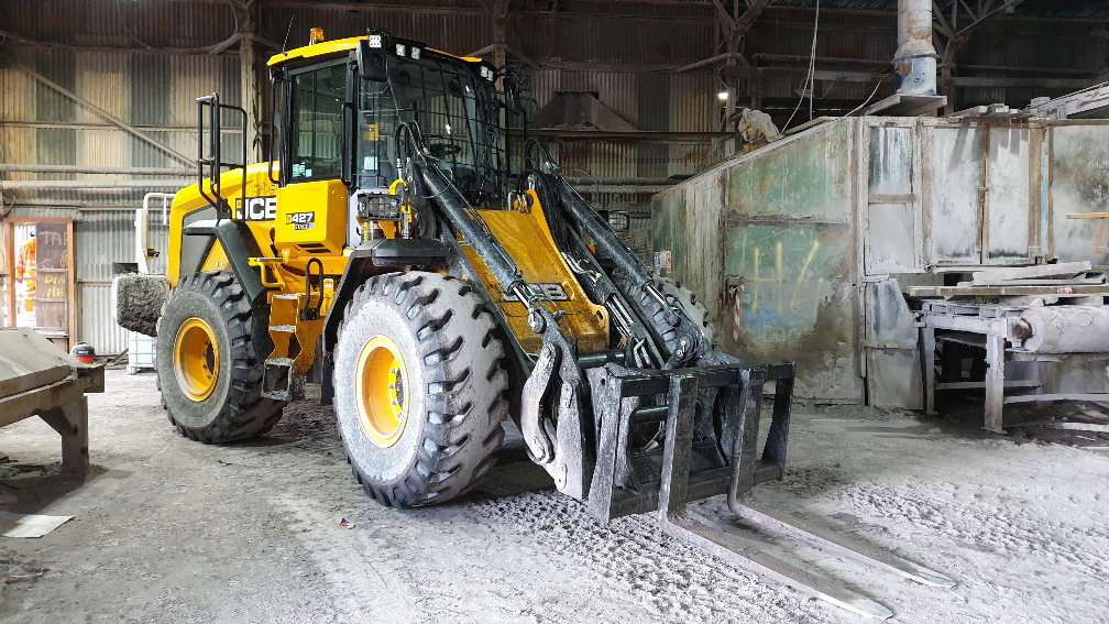 427 Wheeled loading shovel Plant Hire Investment