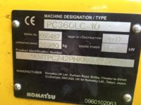 Komatsu PC360LC K60487- CE Certs